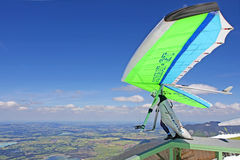 King Ludwig Championship hang gliding competitions Stock Image