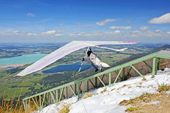 King Ludwig Championship hang gliding competitions Royalty Free Stock Images