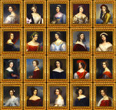 King Ludwig I's Gallery of Beauties. Stock Photography