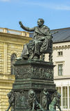 King Luitpold statue from Munich Residence Royalty Free Stock Image