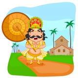 King Mahabali for Onam festival Royalty Free Stock Images