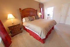 King Master Bedroom Stock Photo