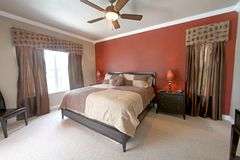 King Master Bedroom Stock Photo