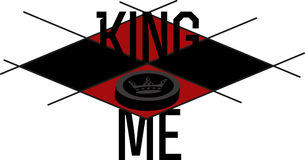King Me Royalty Free Stock Images