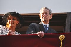 King Michael of Romania Stock Photos