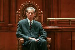 King Michael of Romania Royalty Free Stock Photo