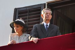 King Michael of Romania Royalty Free Stock Photography