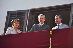 King Michael of Romania Royalty Free Stock Images