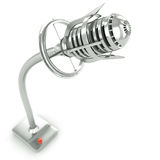 King of the microphones Stock Photography