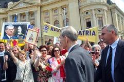 King Mihai I of Romania(9) Royalty Free Stock Images