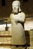 King Mutallu. ANKARA, TURKEY - MAY 21, 2014 -  Statue of King Mutallu, subject to Sargon II of Assyria, 1200 - 700 BCE, Aslantepe in Malatya,  Museum of Stock Image