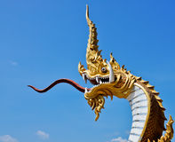 King of Naga Royalty Free Stock Images