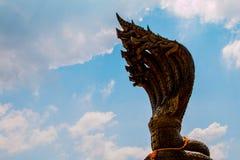 King naga in NAKHON PHANOM THAILAND Stock Photo