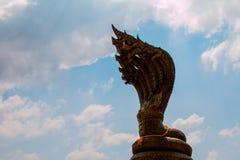 King naga in NAKHON PHANOM THAILAND Royalty Free Stock Photography