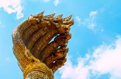 King naga in NAKHON PHANOM THAILAND Stock Image