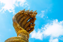 King naga in NAKHON PHANOM THAILAND Stock Images