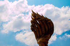King naga in NAKHON PHANOM THAILAND Royalty Free Stock Images