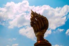 King naga in NAKHON PHANOM THAILAND Royalty Free Stock Photo