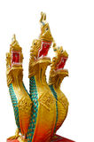 King of naga statue Stock Photo