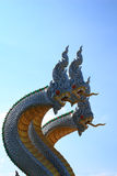 King of nagas. At wat moung, ayuttaya, Thailand Royalty Free Stock Photography