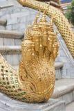 King of Nagas. Temple of the Emerald Buddha (Wat Phra Kaew), Bangkok, Thailand Royalty Free Stock Images