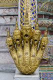King of Nagas. Temple of the Emerald Buddha (Wat Phra Kaew), Bangkok, Thailand Stock Photos