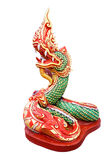King of Nagas. Colour statue Stock Photo