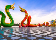 King of Nagas. Customize colors beyond imagination Stock Image