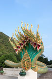 King of Nagas green Royalty Free Stock Photos
