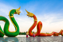 King of Nagas serpent. King of Nagas Customize colors beyond imagination Royalty Free Stock Photography
