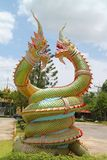 King of Nagas. Serpent great Naga Stock Photo
