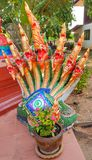 King of Nagas. Snake statue thailand naga travel thai buddhism Stock Photo