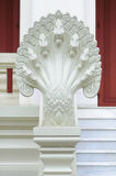 King of Nagas statue in Chulalongkorn University Stock Photo