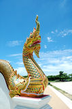 King of Nagas Statue Stock Photo