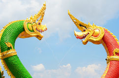 King of Nagas statue Stock Images