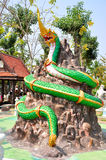 King of Nagas Statue Royalty Free Stock Images