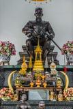 King Naresuan Shrine Wat Yai Chai Mongkhon Ayutthaya bangkok Tha Stock Photography