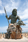 King Neptune Monument In Virginia Stock Photography