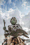 King Neptune Statue Virginia Beach Royalty Free Stock Image