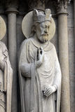 King, Notre Dame Cathedral, Paris Royalty Free Stock Image
