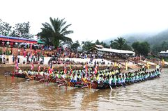 Free King Of Nagas Long Boat Racing Festival , This Event Has Been The Pride Of Tanintharyi For Stock Photo - 131645140