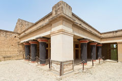 King palace of Knossos Royalty Free Stock Images