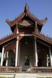 King Palace in Mandalay, Myanmar (Burma) Royalty Free Stock Photos