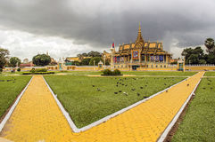 King palace phnom penh Stock Images