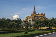 King palace phnom penh Stock Photography