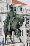 King Pedro IV Statue in Porto Royalty Free Stock Photo