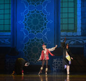 """King of Persia- ballet """"One Thousand and One Nights"""". Ballet One Thousand and One Nights is based on the fairy tale with the same name in the Arabic Stock Image"""
