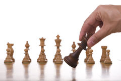 King piece move Stock Image