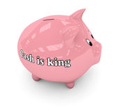 King piggybank Stock Photo