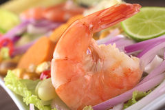 King Prawn Ceviche Stock Image